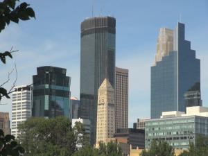 Minneapolis skyline.Still001